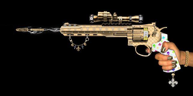 Key Chain Gun