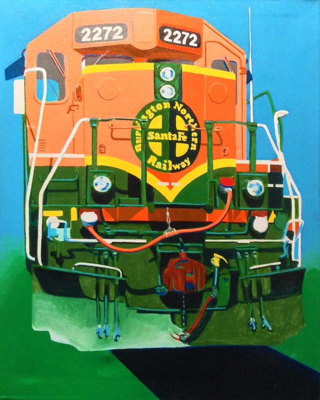 Train Face 2