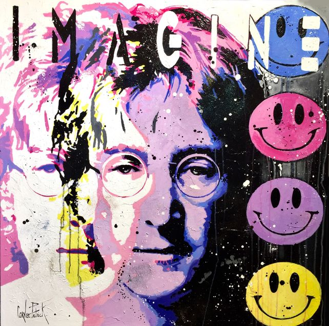 John Lenon, imagine, pink version