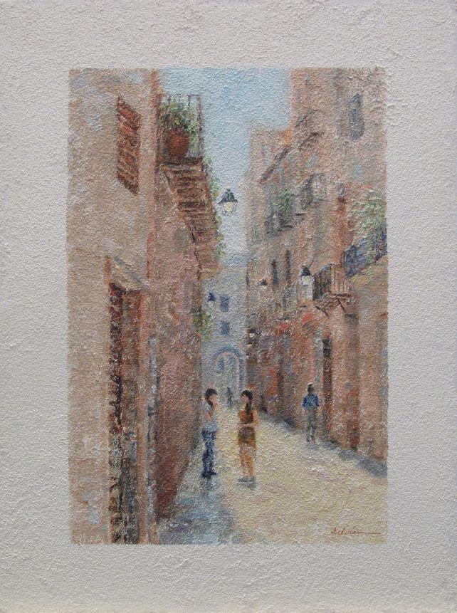 European city scene 2