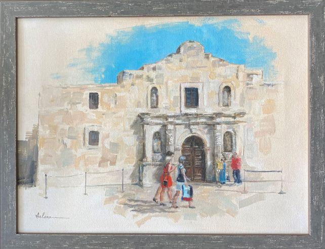 Alamo visitors