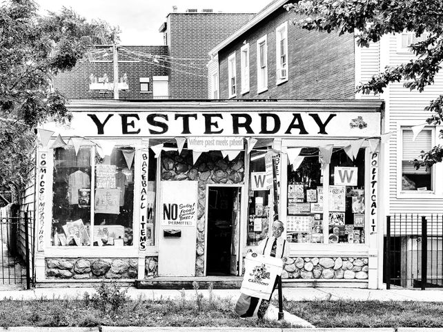 A GLIMPSE OF YESTERDAY Only Yesterday