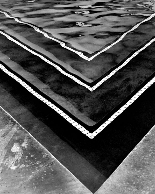 POOL ABSTRACTION Black and White