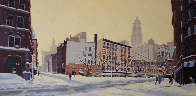 Still of Winter, West Broadway & Chambers St