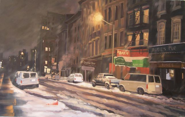 Winter Night, Murray St