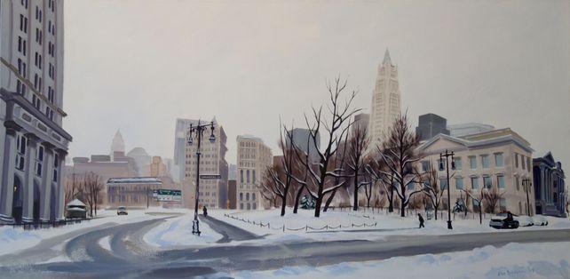 Winter's Stillness, Centre & Chambers St
