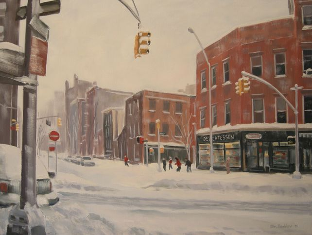 Winter, West 4th, Jane St, 8th Ave