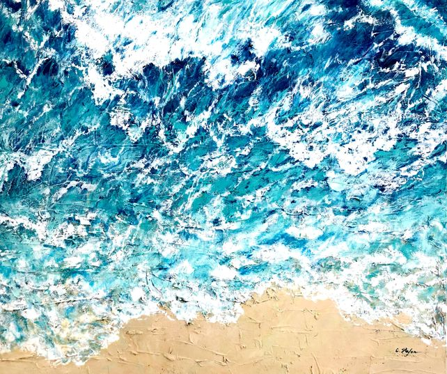 Ocean view from the sky - seascape