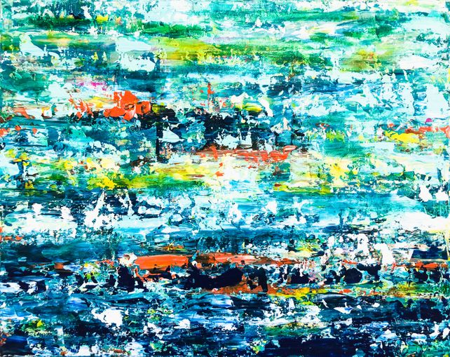 Costa Daurada - Abstract seascape