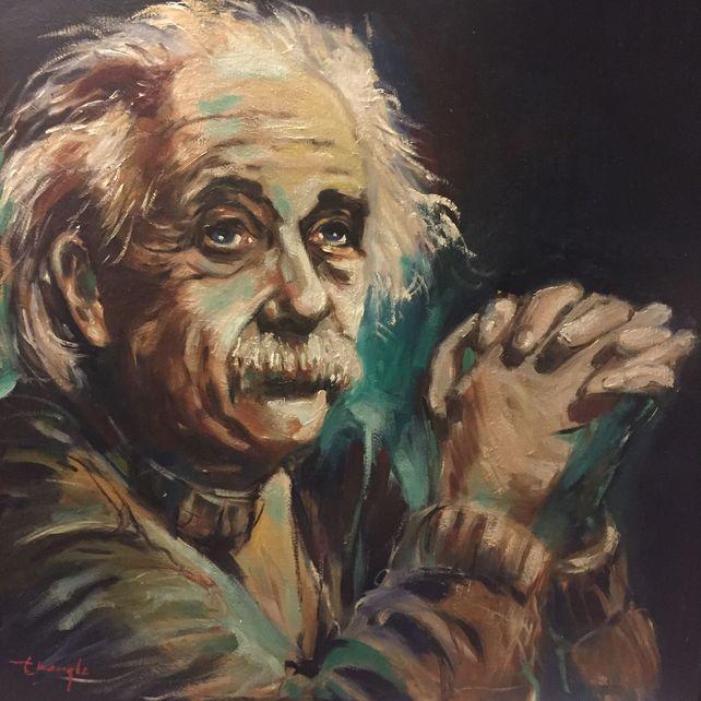 Portrait of Einstein