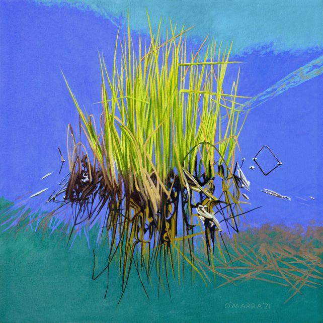 Lake Grass Still Life