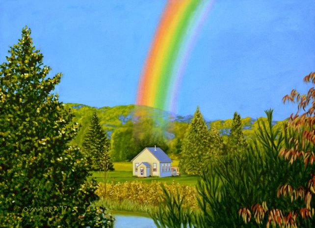 Schoolhouse Rainbow