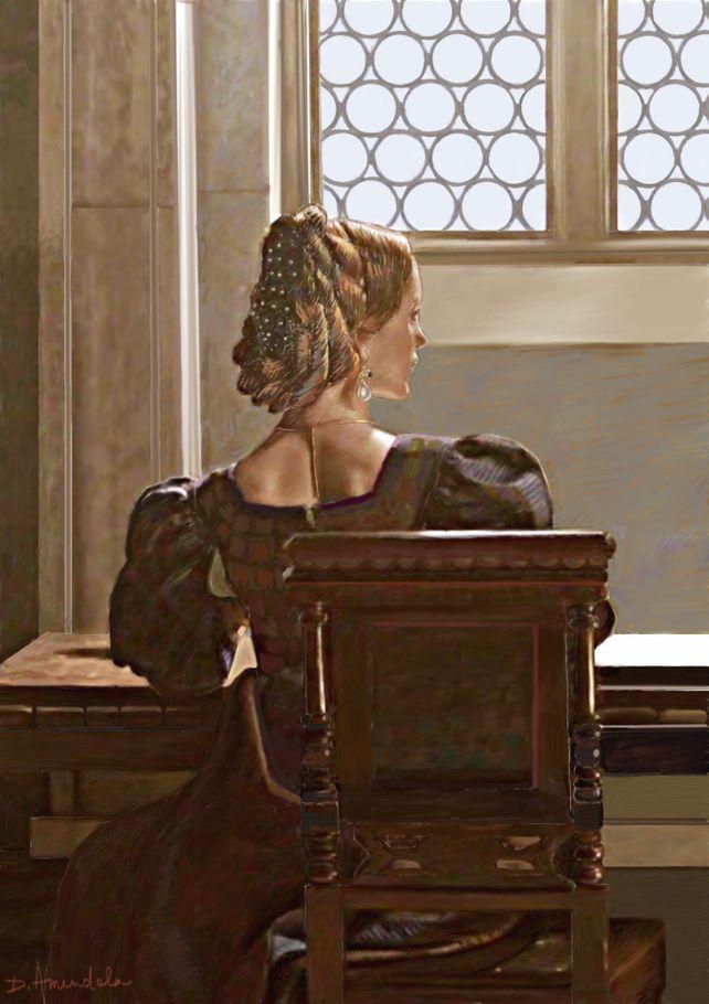 Lady near the window