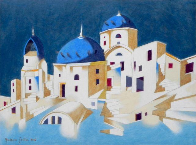 Memory of Santorini