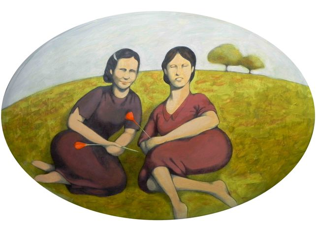 Ida and Erminia in the fields