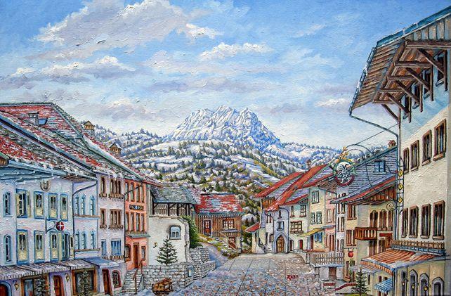 Gruyeres Switzerland - Swiss Alps Village
