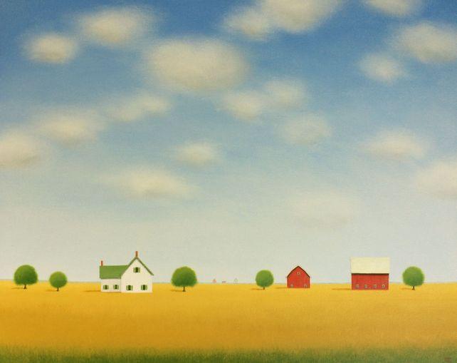 Farmhouse on the Prairie