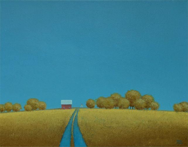 Lane to the Old Farmhouse