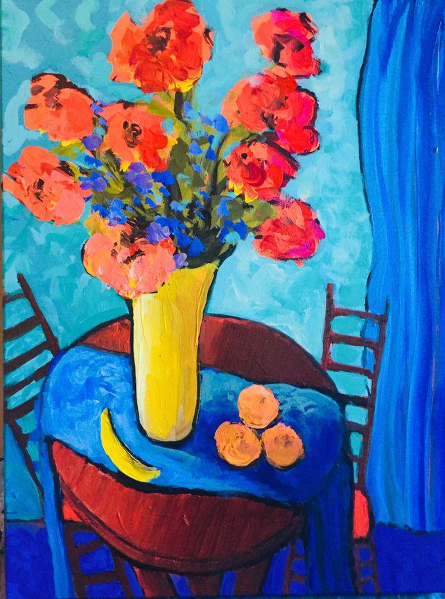 Kitchen Flowers