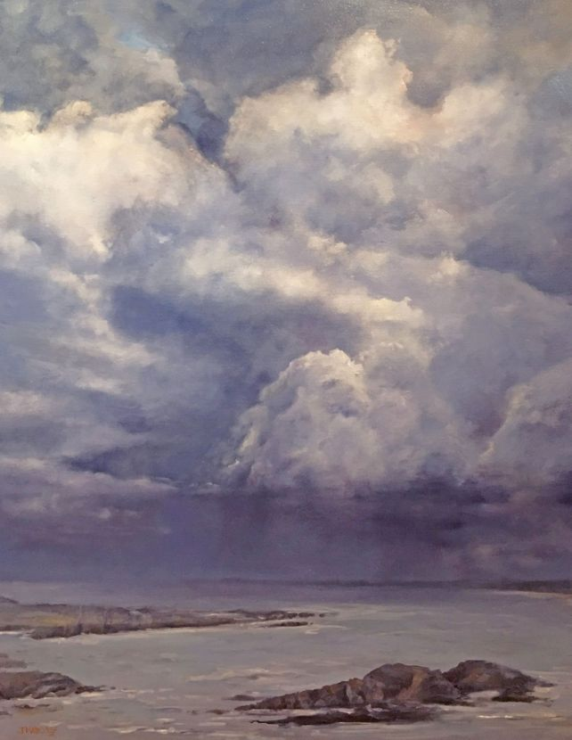 Cloudburst - St. Luce sur Mer