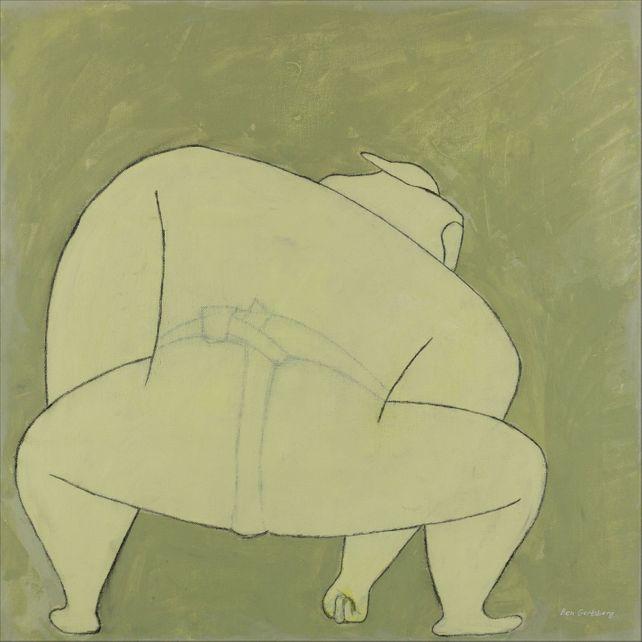 Sumo Wrestler, by Ben Gertsberg
