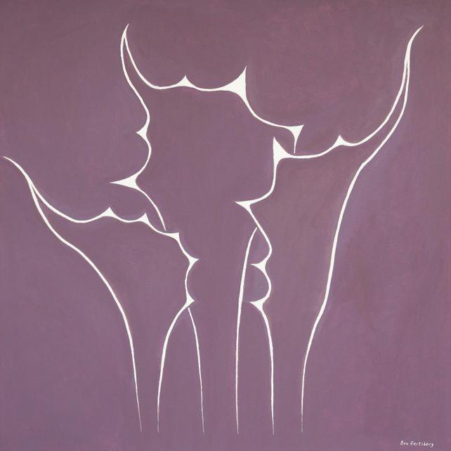Succulent In Violet, by Ben Gertsberg