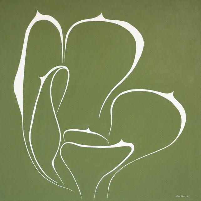 Succulent In Green, by Ben Gertsberg