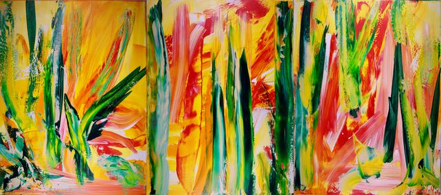 Interrupted Forest - Triptych