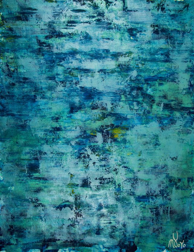 The deepest ocean (Turquoise spectra) 2