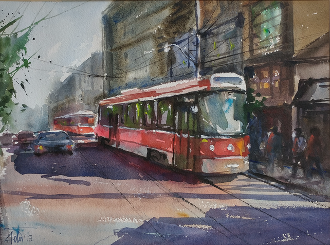 Street Car 01