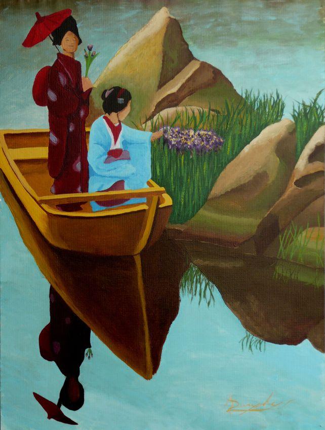 The Geisha boat