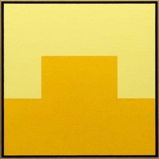 CITRINE - Framed Modern / Minimal Painting