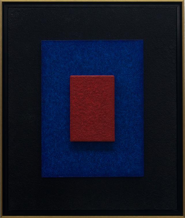 CINNABAR DREAMS - Framed 3D Modern Abstract