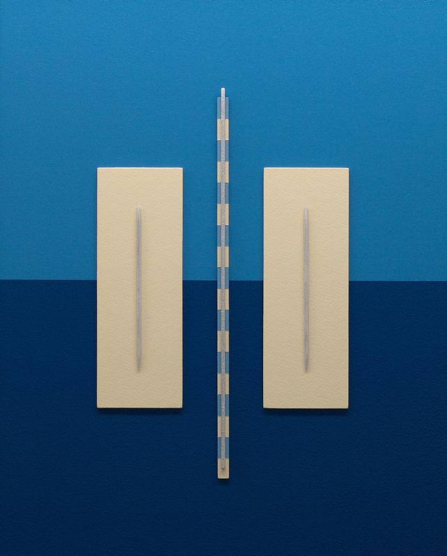 SARASOTA - 3D MODERN ABSTRACT PAINTING / CONSTRUCT