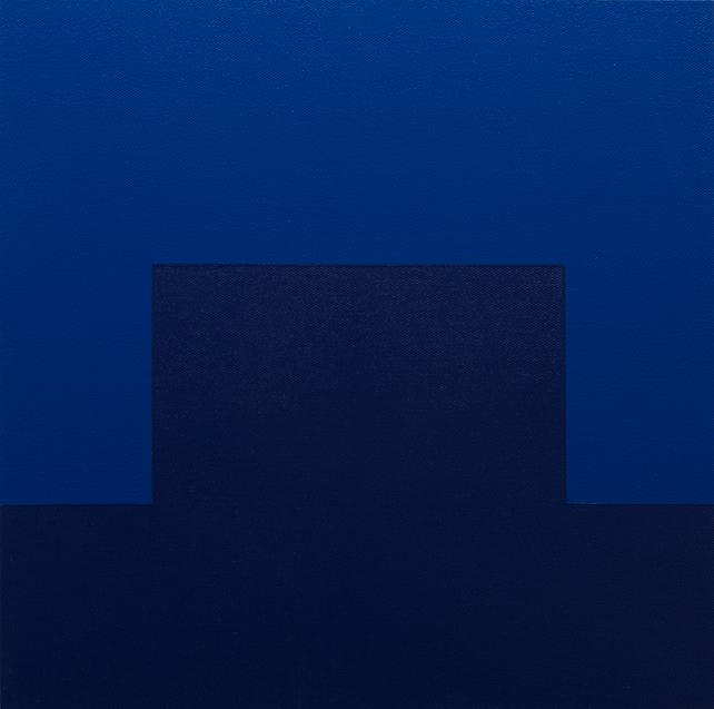CYAN - Modern / Minimal Geometric Painting