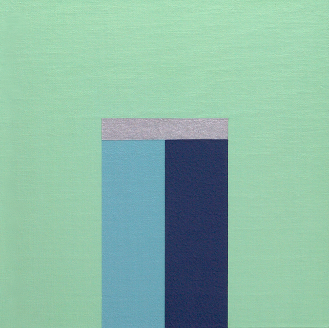 HEATHER - Modern / Minimal Geometric Painting