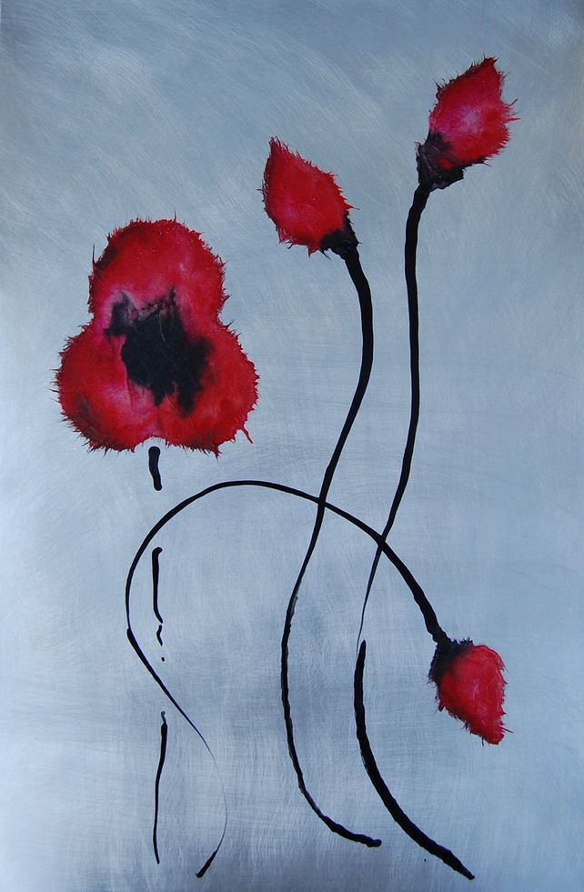 Dazzling Poppies IV