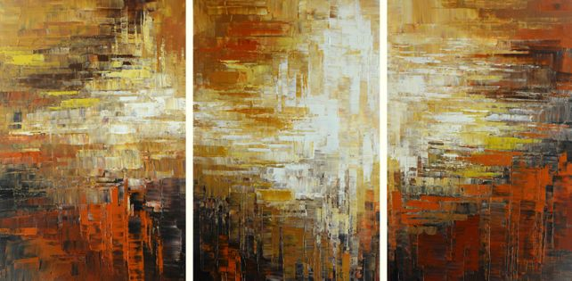 BYZANTIUM RISING (triptych)