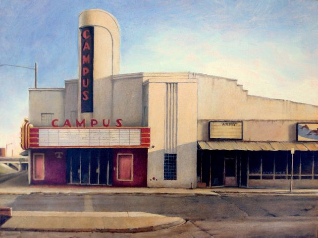 Art Deco Campus Theatre