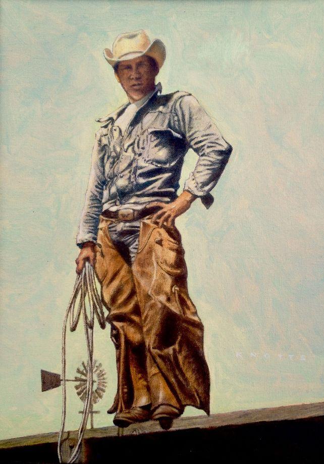 King Ranch cowboy