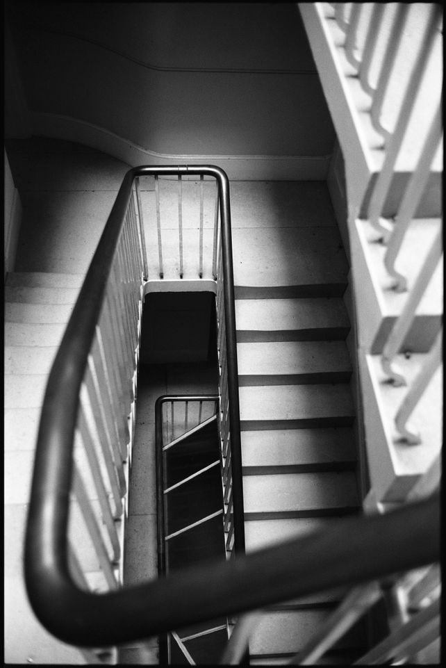 Edition 1/10 Geometry, Staircase, Wimpole Estate