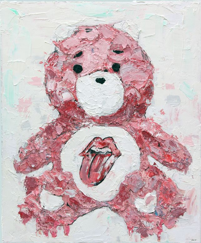 Rolling Stones Care Bear
