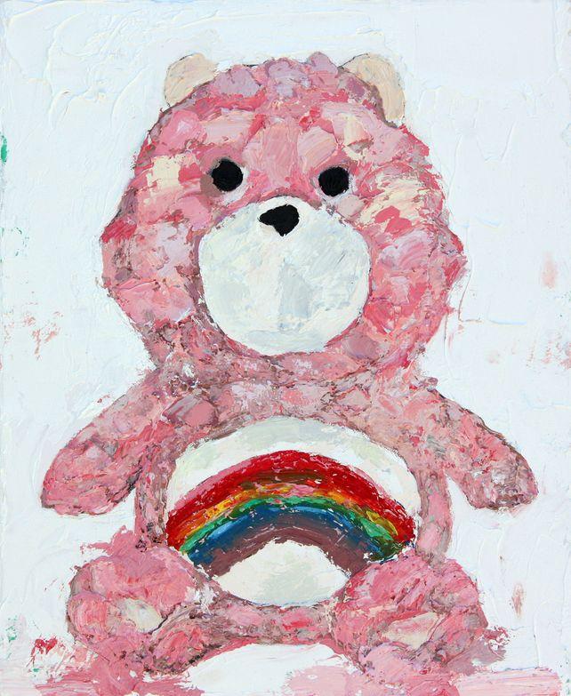 Vintage Care Bear Pink
