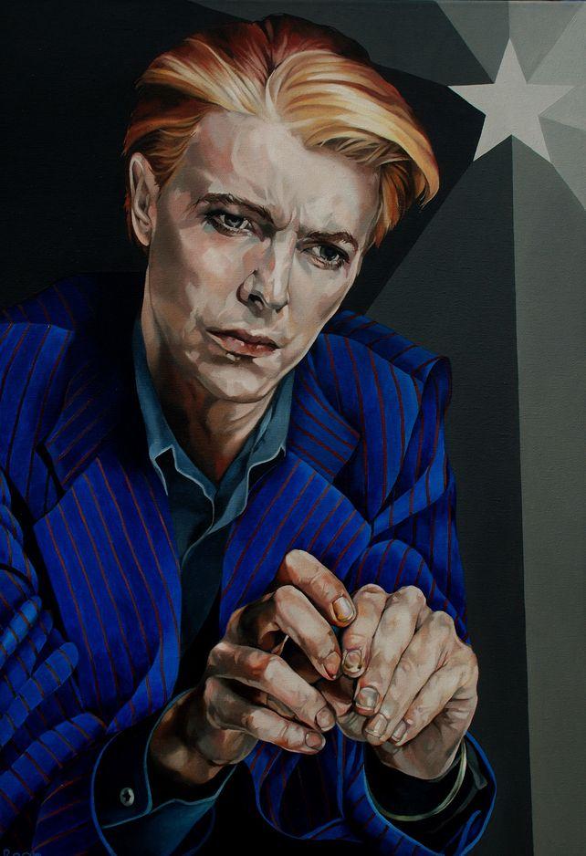 Bowie In Blue