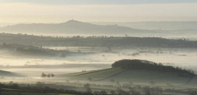 Misty Tor from House Grounds