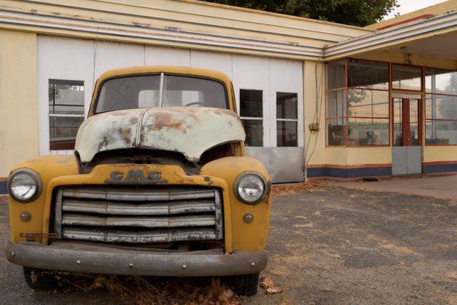 1950's Derelict GMC Truck