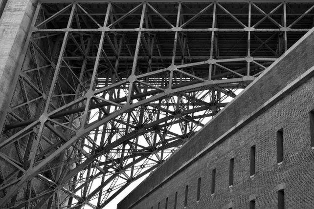 Golden Gate Bridge - Bricks And Steel