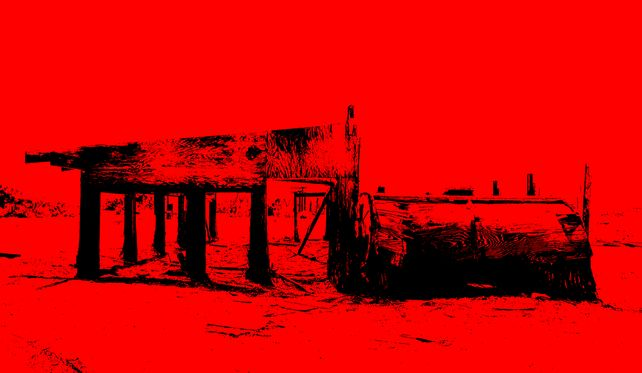 Dilapidation #2 - In Red