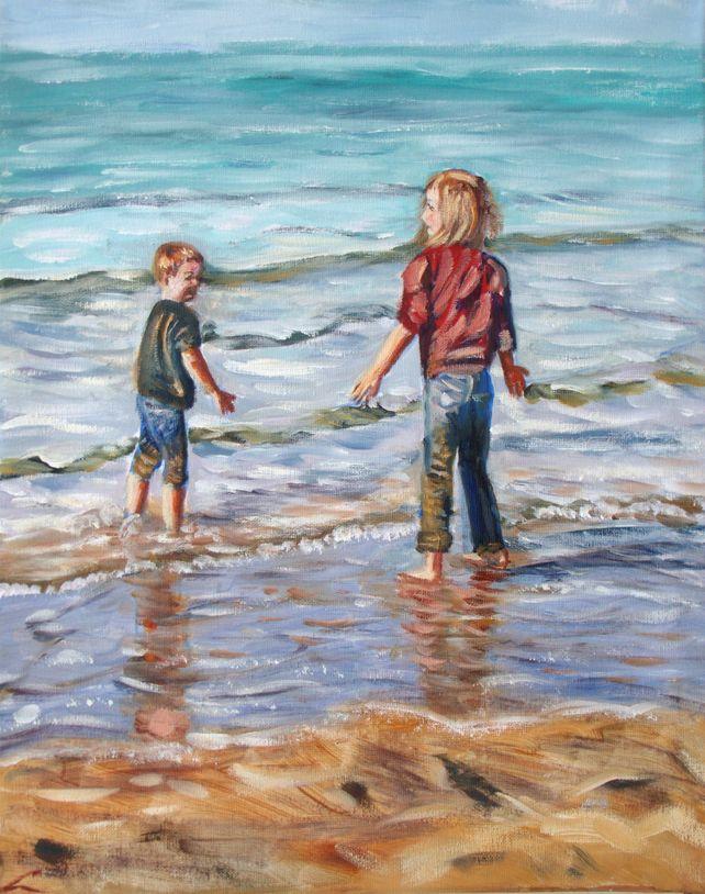 Children at the sea