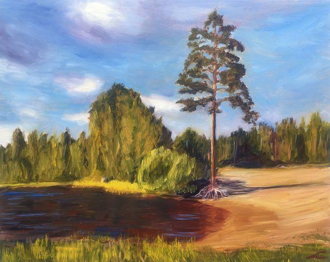 Pastors lake pine